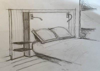 Avant projet tête de lit