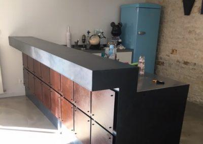 Bar indus acier corten