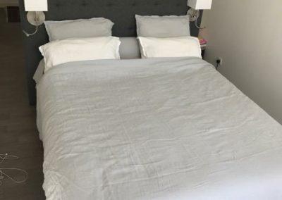 Tête de lit coiffeuse