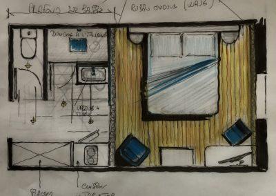 Plan avant projet chambre témoin
