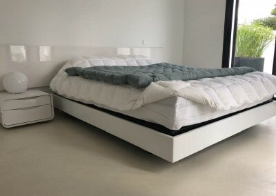 Tête et cadre de lit sur mesure